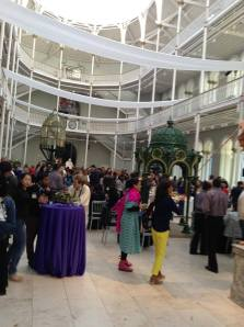 Opening party at Scottish Museum